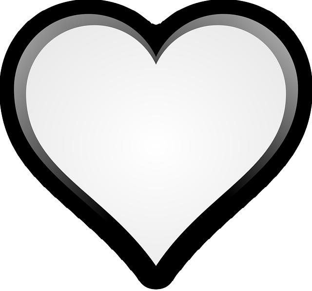 Heart Love Romance Free Vector Graphic On Pixabay