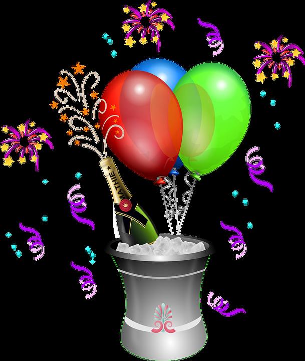 image vectorielle gratuite anniversaire ballons bouteille image gratuite sur pixabay 157521. Black Bedroom Furniture Sets. Home Design Ideas
