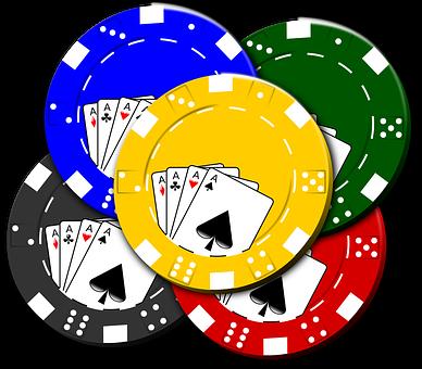 Casino, Chips, Poker, Cards, Gambling