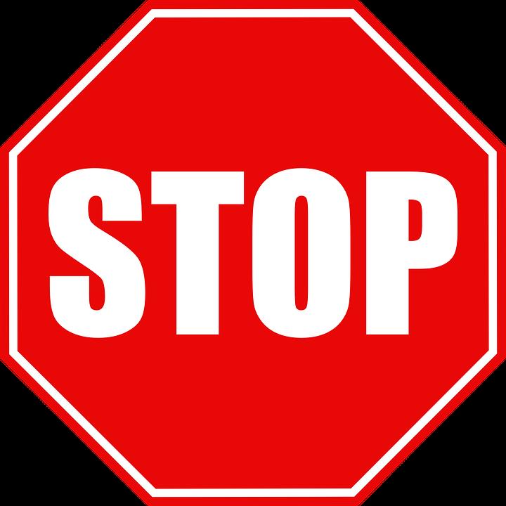 トラフィック 記号 停止 · Pixab...