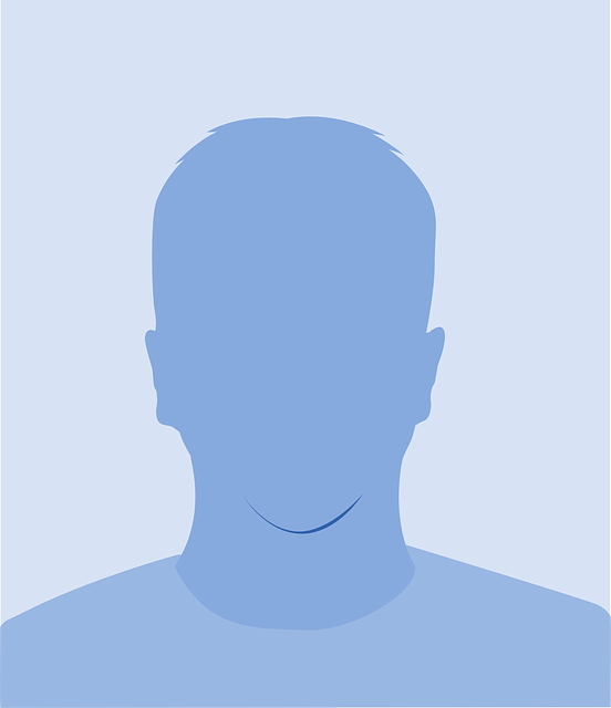 Generic head male facial features