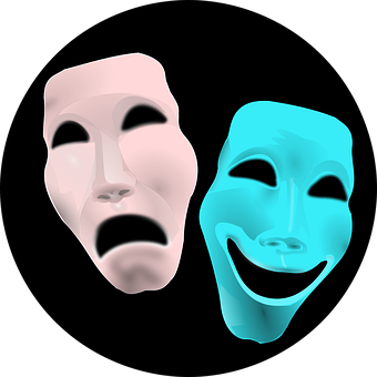 Comedy, Face, Theater, Tragedy, Masks
