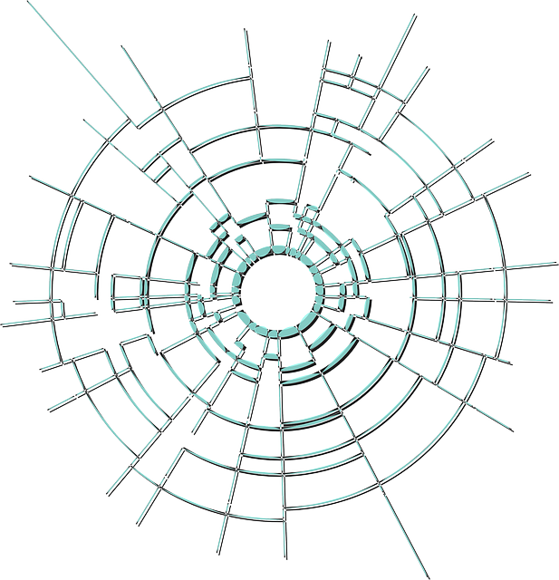Free Vector Graphic Cracks Glass Hole Broken Crash
