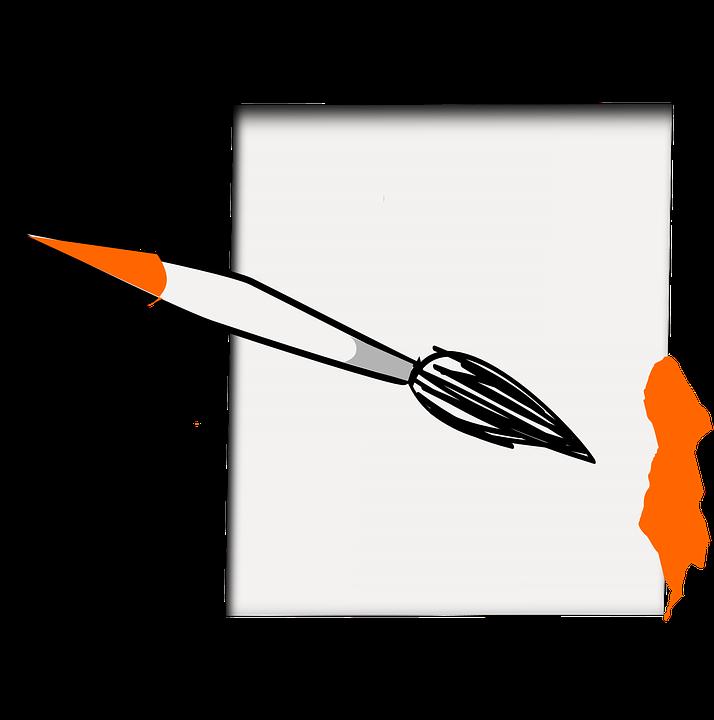 Pincel Pintura Hoja · Gráficos vectoriales gratis en Pixabay