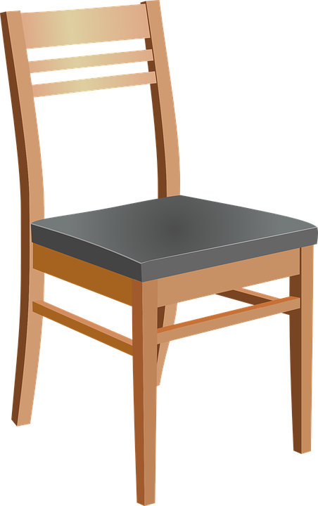 Vector gratis silla muebles madera de madera imagen for Muebles sillas de madera