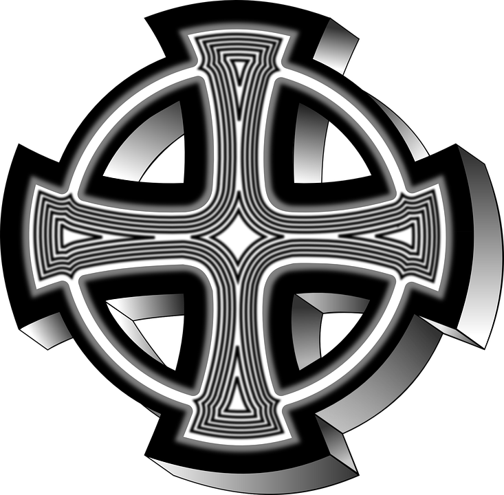 Celtic Cross Symbol Free Vector Graphic On Pixabay