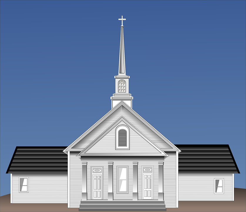 Church Building Architecture 183 Free Vector Graphic On Pixabay