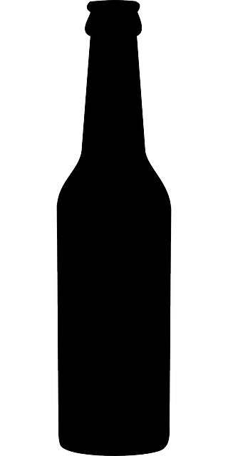 bottle beer alcohol free vector graphic on pixabay rh pixabay com free vector beer bottle silhouette vector beer bottle free download