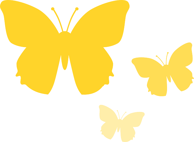 Free Vector Graphic Butterfly Animal Nature Yellow Free Image On Pixabay 157856