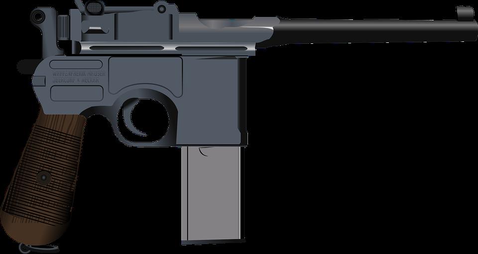 Free vector graphic SemiAutomatic Gun Gun Pistol Free Image