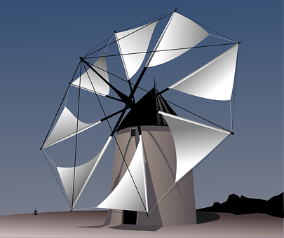 Windmill free images on pixabay Wind architecture