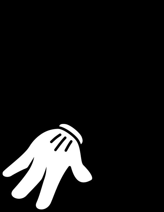 手 指 ポインタ Pixabayの無料ベクター素材