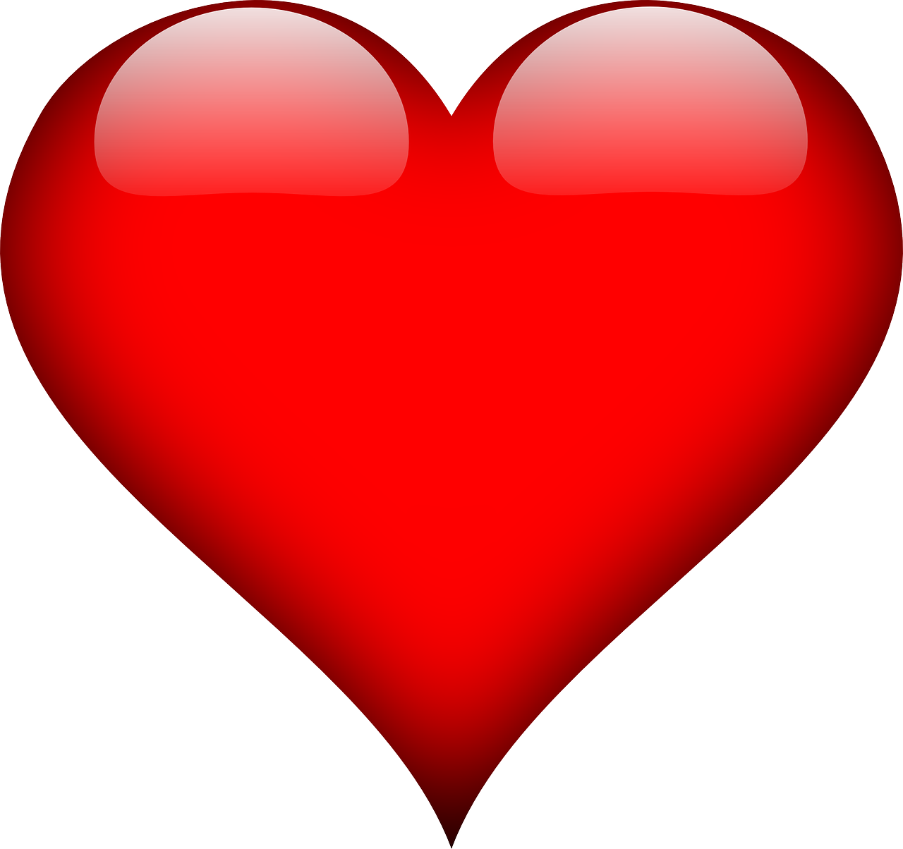 Heart Love Red - Free vector graphic on Pixabay