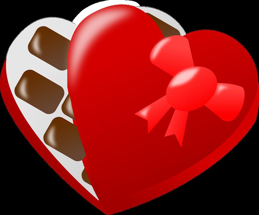 pralines heart love free vector graphic on pixabay rh pixabay com