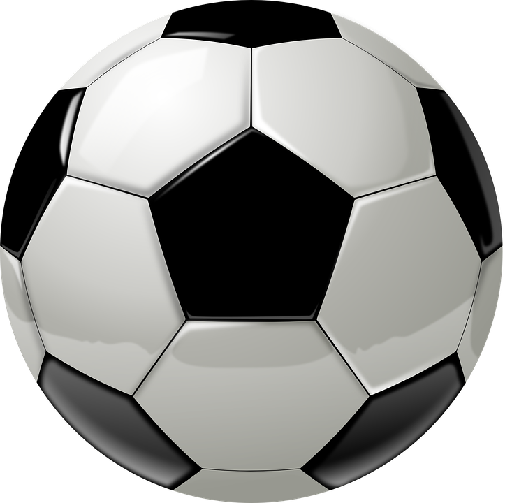 Football Ball Sport Free Vector Graphic On Pixabay