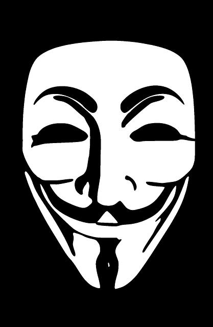 anonymous logo stencil - photo #20