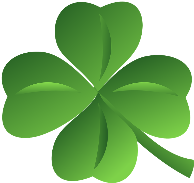 Four Leaf Clover Free Vector Graphic On Pixabay