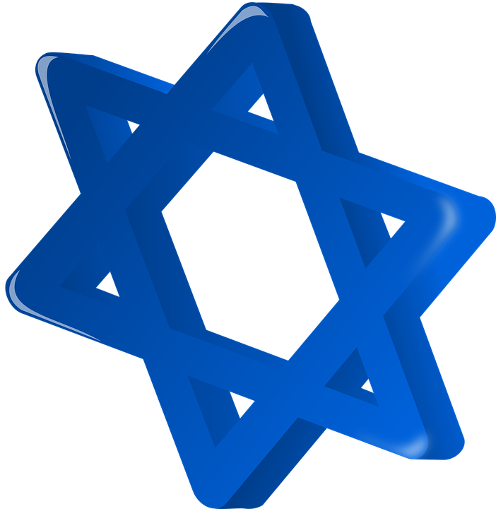 star of david blue free vector graphic on pixabay rh pixabay com free clipart images star of david Christmas Star Clip Art