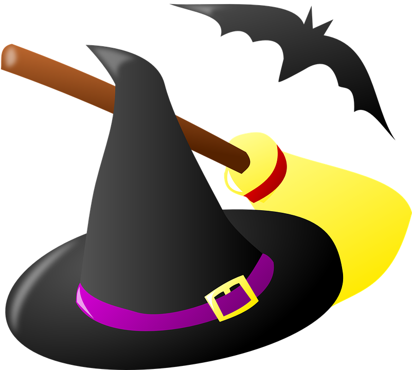 Free vector graphic: Witch, Hat, Costume, Halloween - Free ...