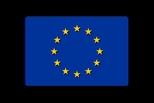 Pays, Drapeau, Europe, Bleu, Étoiles