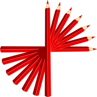 Crayons, Stylos, Red, Dessin, Sharp