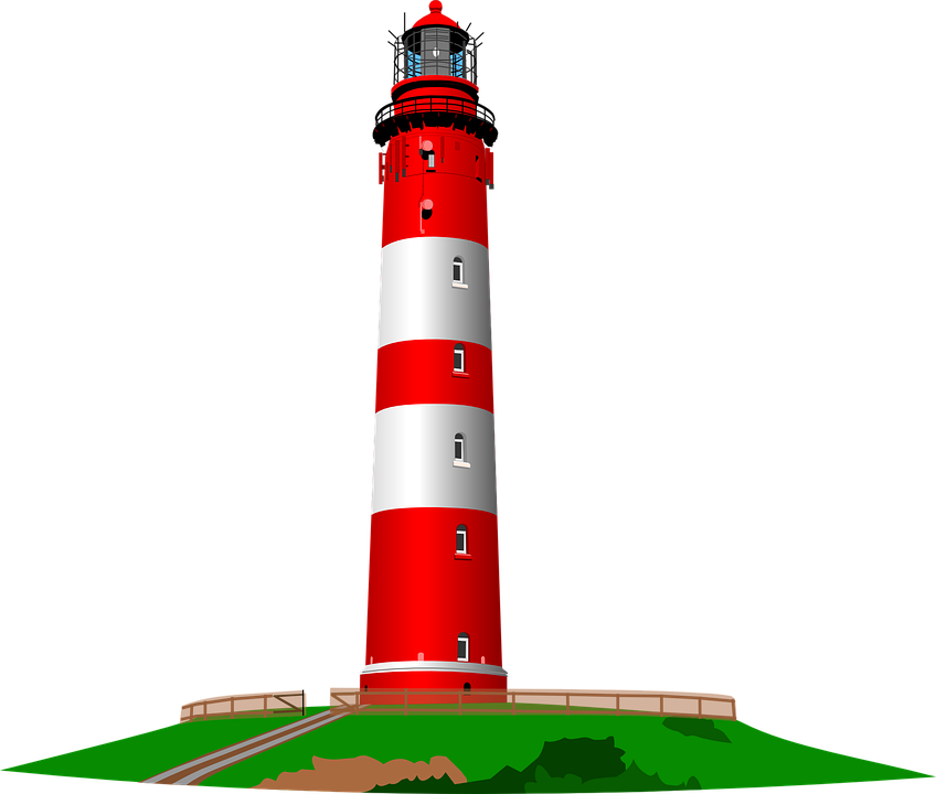 lighthouse ocean sea free vector graphic on pixabay rh pixabay com lighthouse vector charts lighthouse vector charts