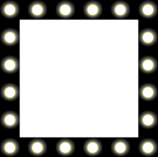 Vanity With Marquee Lights : Free vector graphic: Mirror, Lights, Backstage, Black - Free Image on Pixabay - 158091