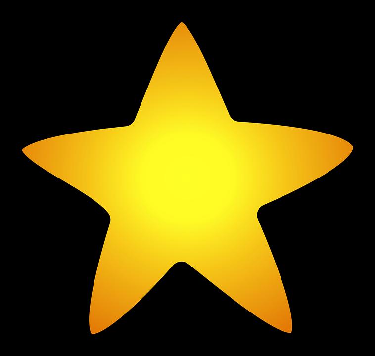 Star Yellow Symbol Free Vector Graphic On Pixabay