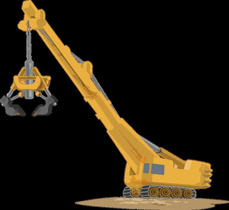 crane machine for construction