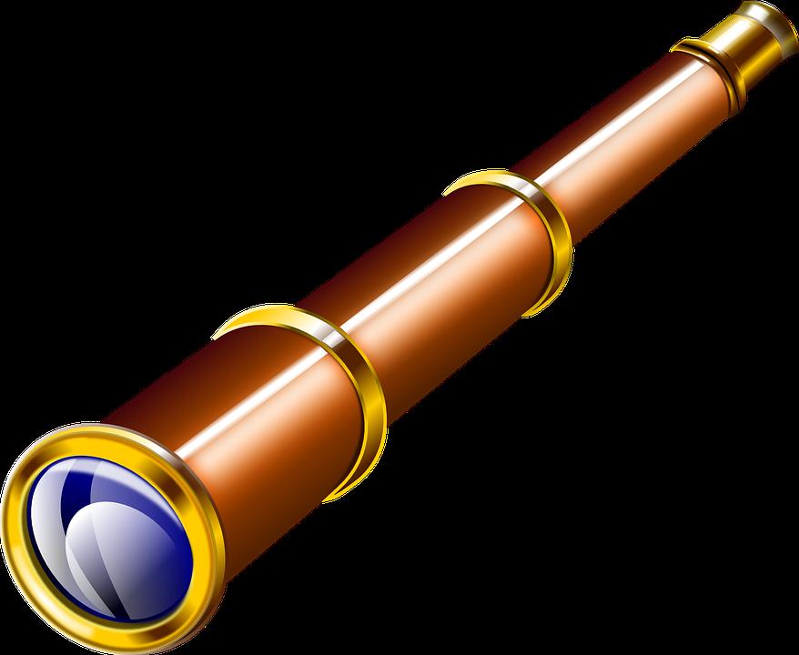 Труба подзорная рисунок