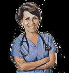 woman, nurse, doctor