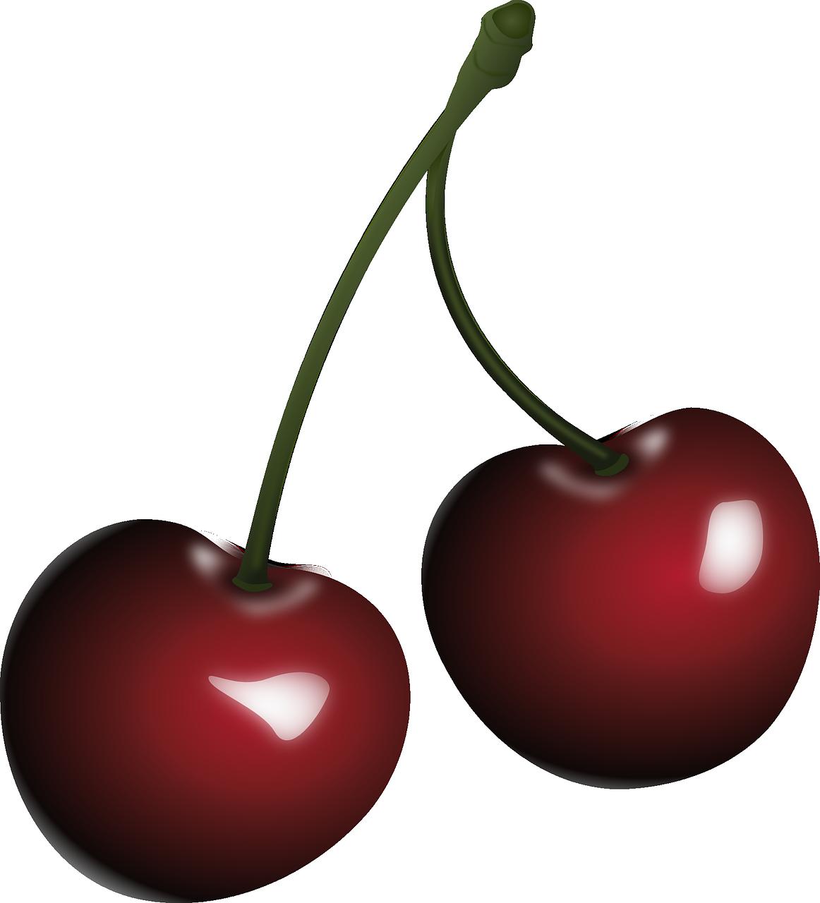 A pair of cherries