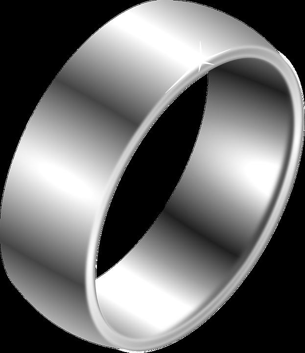 Fingerring  Kostenlose Vektorgrafik: Ring, Fingerring, Silber - Kostenloses ...