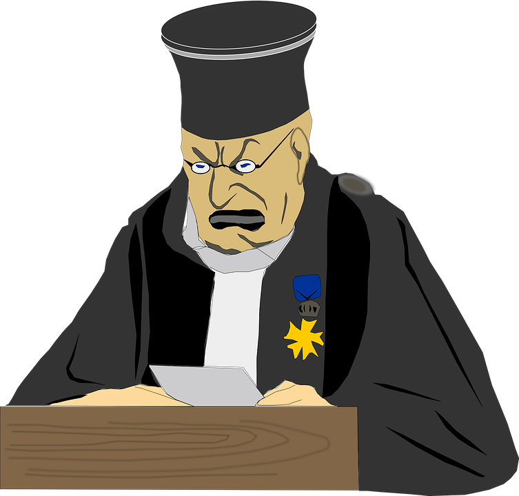 Judge Man Law · Free vector graphic on Pixabay