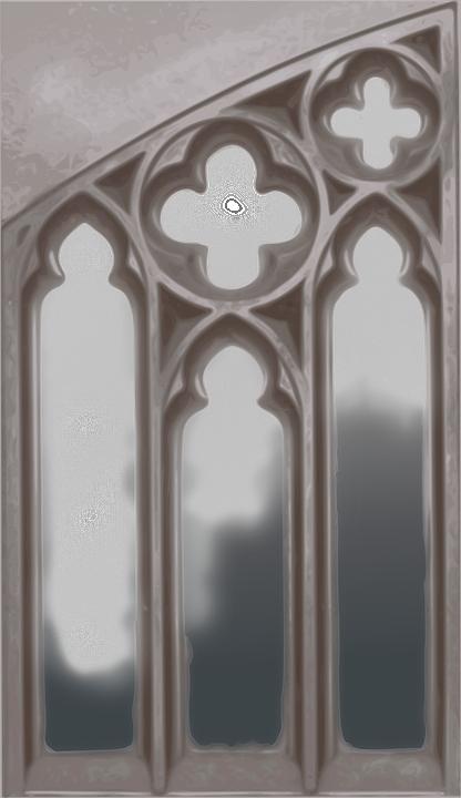 Image vectorielle gratuite gothique fen tre glise for Fenetre gothique
