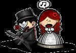 man, woman, opera