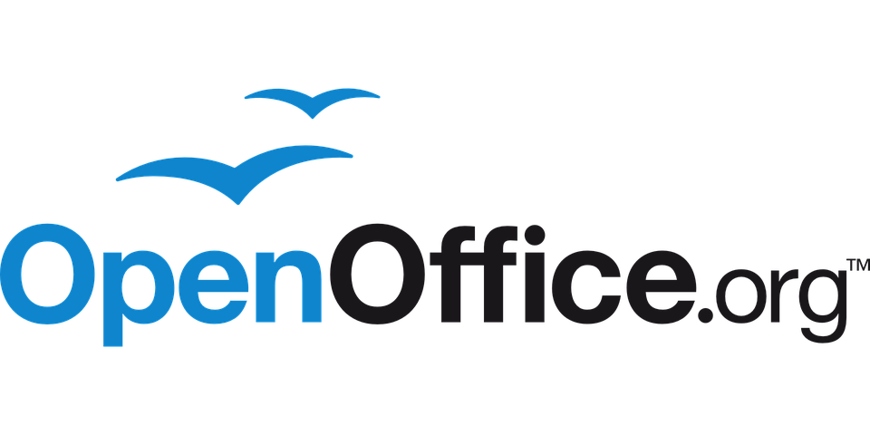 Openoffice office logo free vector graphic on pixabay - Open office vs office libre ...
