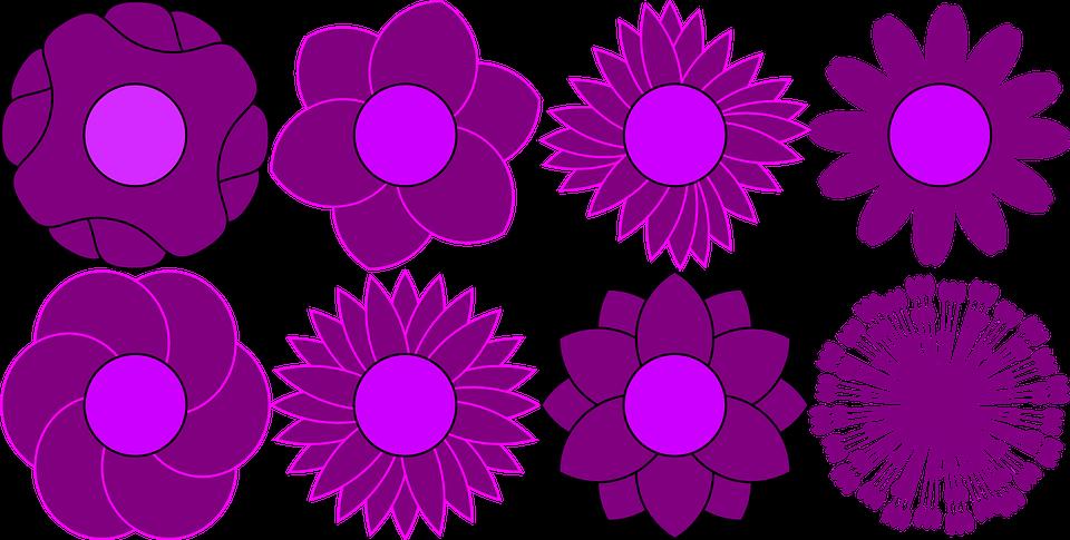 Image vectorielle gratuite: Patron, Fleur, Floraux, Bloom ...