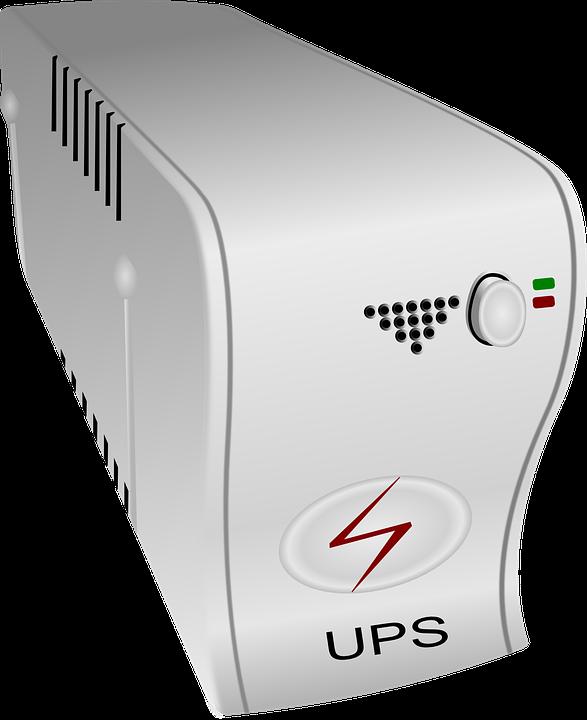 Ups Computer Uninterruptible Power 183 Free Vector Graphic