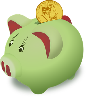 Moneybox, Pig, Piggy, Saving, Bank, Cash