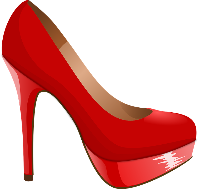 Free vector graphic: High Heel, Shoe, Red, Heel, High - Free Image ...