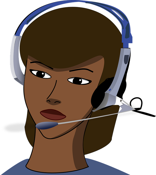 Facility Transparent Background : Free vector graphic call center girl headset office