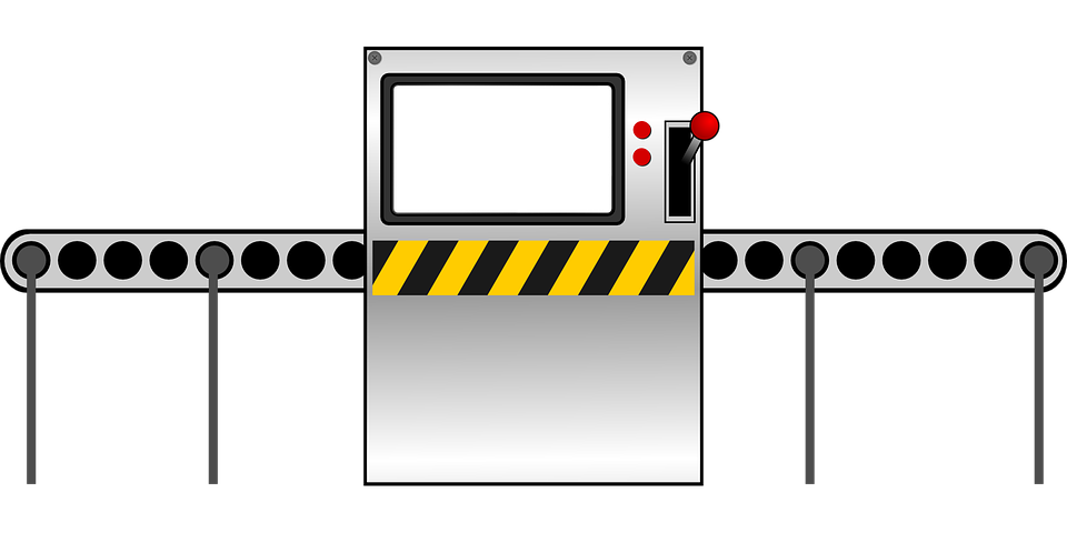 Assembly Icon: Factory Machine Assembly Line · Free Vector Graphic On Pixabay