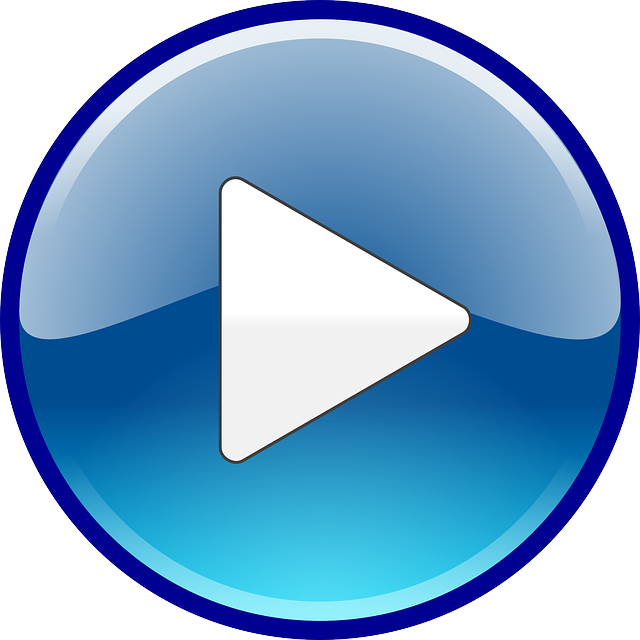 free vector graphic audio play sound start video