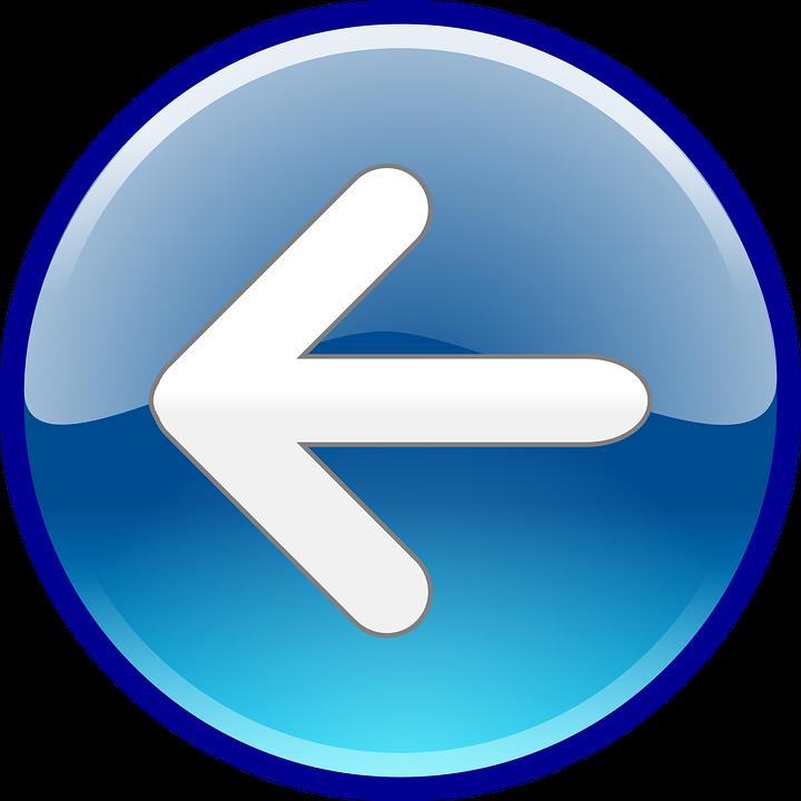 Volta Voltar Seta - Gráfico vetorial grátis no Pixabay