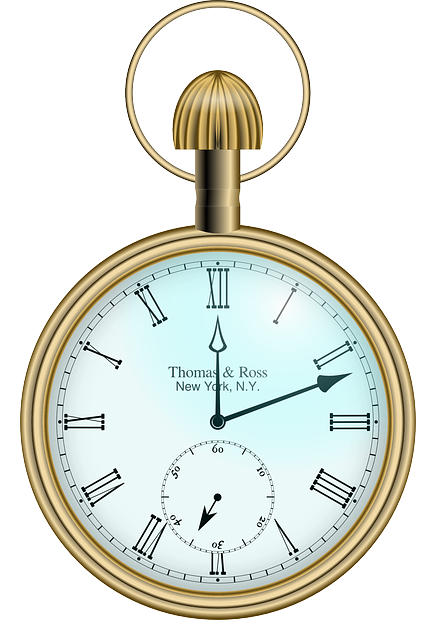Free vector graphic: Clock, Time, Watch, Pocket Watch ...
