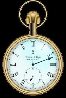 Uhr, Zeit, Beobachten, Taschenuhr