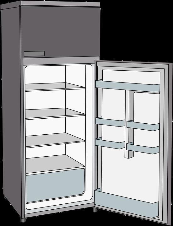 冰箱, 冷却, 冷, 冰柜, 房子, 电子产品, 冻结, 制冷