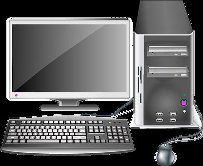 Computer, Desktop, Workstation, Office