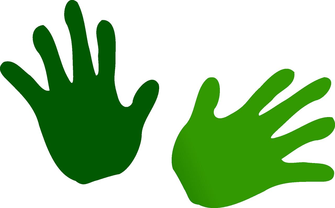 зеленая рука картинки статьи